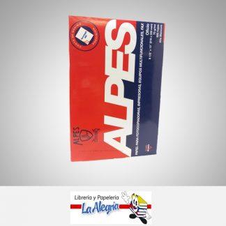 Resma papel oficio base 20 Alpes