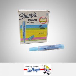 Resaltador accent 3d azul sharpie