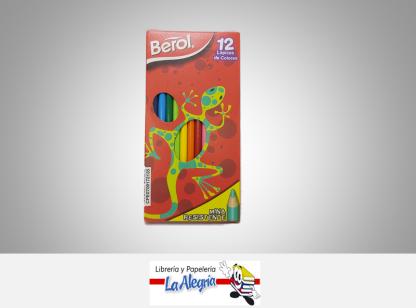Lapices de colores 12 colores Berol