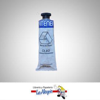 Pintura al oleo 40cc blanco de titanio atenea