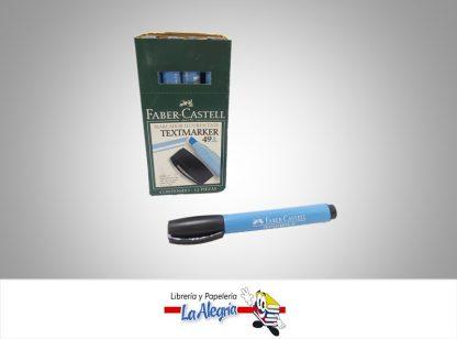 Resaltador textmarker 49 azul faber castell