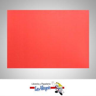 cartulina fluorescente 64x45cm roja