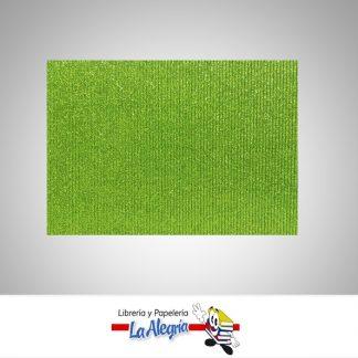 carton corrugado escarchado a4 verde bambary