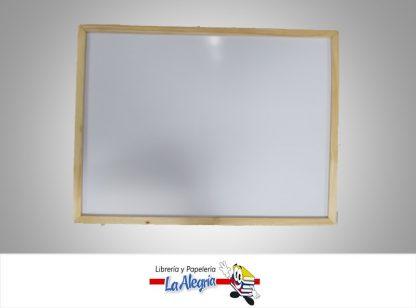 Pizarra acrilica marco madera 60x40cm