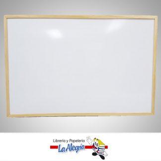 Pizarra acrilica marco madera 120x80cm